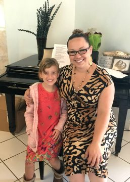 singing teacher in clearwater improved our 9 year old's voice in one lesson