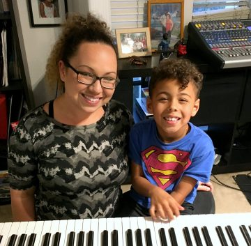 Roxy is the best vocal coach for my 6 year old son